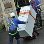 Our team deliver a filing cabinet