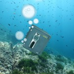Image of a safe in the ocean